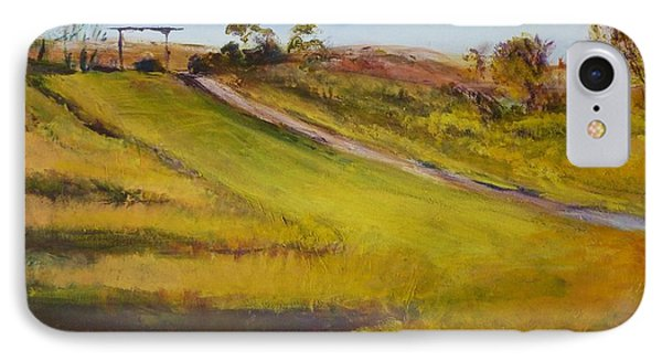 Ranch Entrance IPhone Case by Helen Campbell