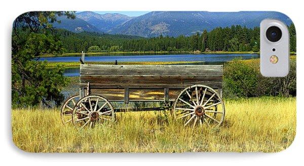 Ranch Wagon 3 Phone Case by Marty Koch