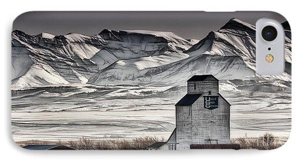 Ranchland Elevator IPhone Case by Brad Allen Fine Art