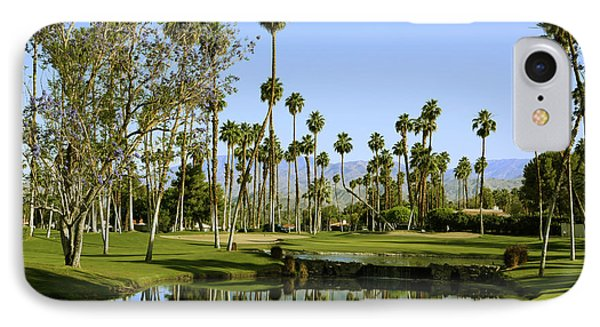 Rancho Mirage Golf Course IPhone Case