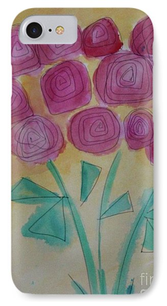 IPhone Case featuring the painting Randi's Roses by Kim Nelson