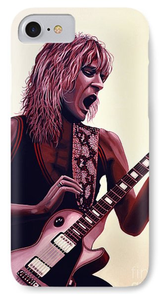 Randy Rhoads IPhone Case by Paul Meijering