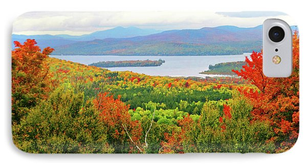 Rangeley Lake And Rangeley Plantation IPhone Case by Mike Breau