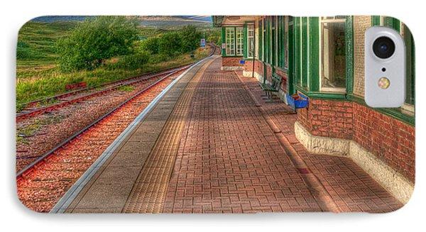 Rannoch Station Platform Phone Case by Chris Thaxter