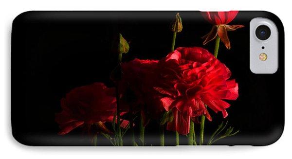 Ranunculus IPhone Case by Ann Bridges