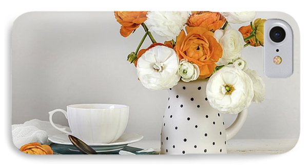 IPhone Case featuring the photograph Ranunculus Bouquet by Kim Hojnacki