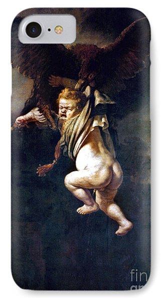 Rape Of Ganymede Phone Case by Granger