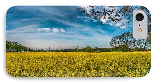 Rapeseed Field IPhone Case by Dmytro Korol