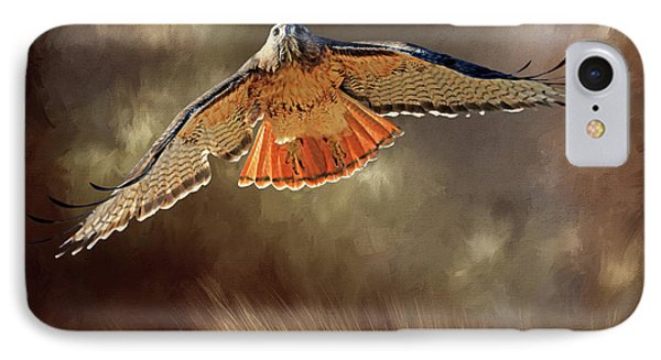 Raptor IPhone Case by Donna Kennedy