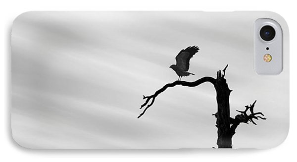 IPhone Case featuring the photograph Raptor Silhouette by Joe Bonita