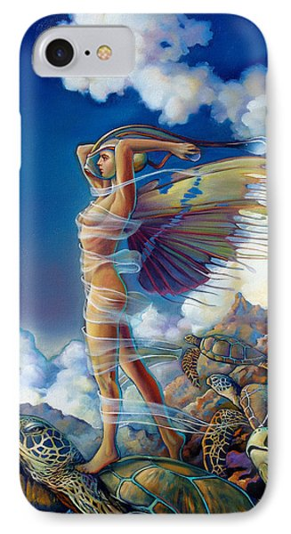 Rapture And The Ecstasea IPhone Case by Patrick Anthony Pierson