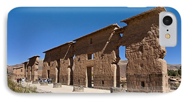 Raqchi Inca Ruins IPhone Case