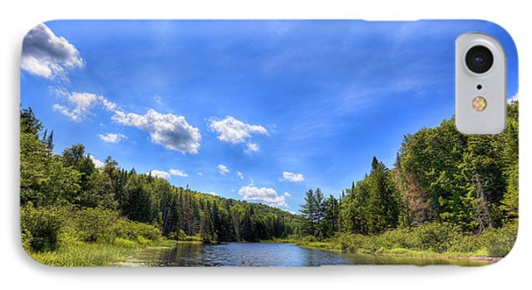 Raquette River Headwaters IPhone Case by David Patterson