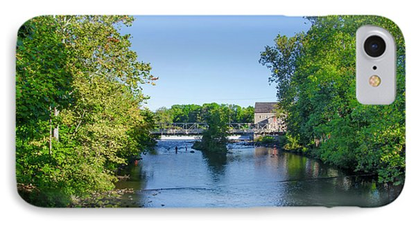 Raritan River - Clinton New Jersey  IPhone Case by Bill Cannon