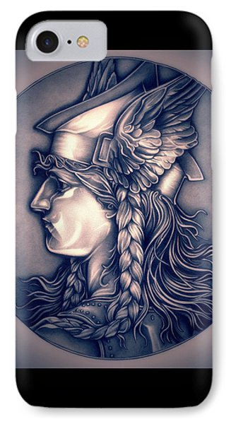 Rasberry Goddess Of Gaul IPhone Case by Fred Larucci