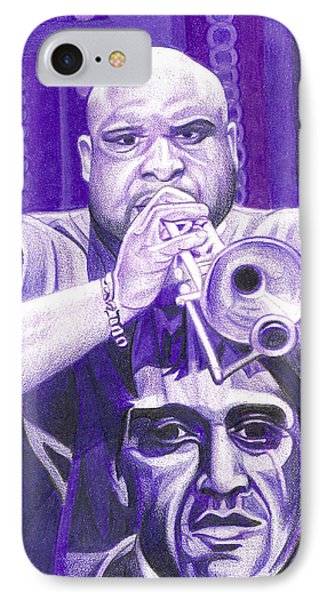 Rashawn Ross IPhone Case by Joshua Morton