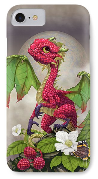 Raspberry iPhone 7 Case - Raspberry Dragon by Stanley Morrison