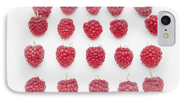 Raspberry IPhone Case by Maj Seda