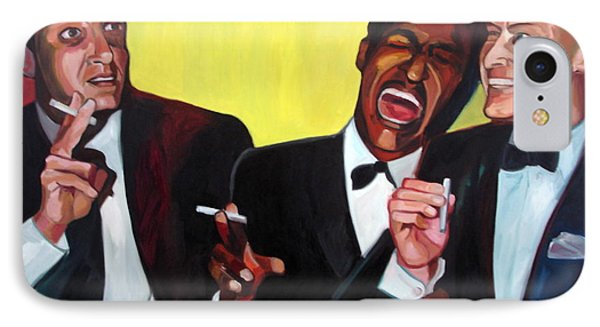 Rat Pack Phone Case by Carmen Stanescu Kutzelnig