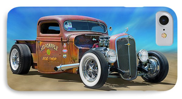 Rat Truck On The Beach IPhone Case by Mike McGlothlen