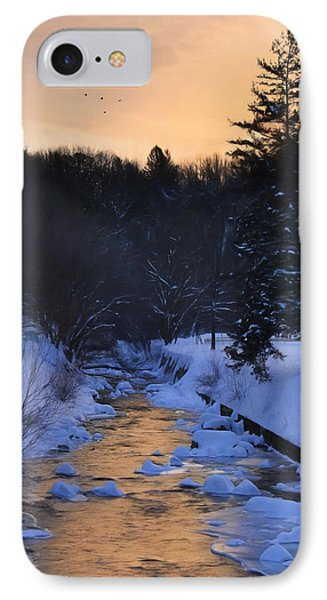 Rattling Creek At Dawn IPhone Case by Lori Deiter