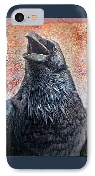 Raven IPhone Case by Hans Droog