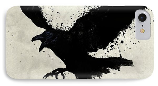 Raven IPhone Case by Nicklas Gustafsson