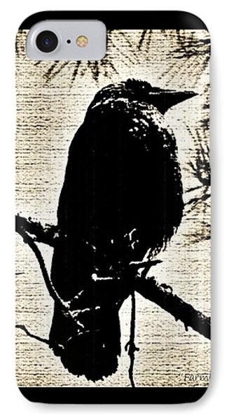 Raven On The Lookout IPhone Case
