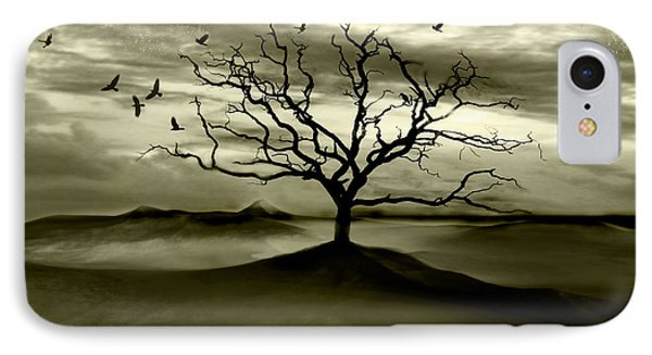 Raven Valley Phone Case by Jacky Gerritsen