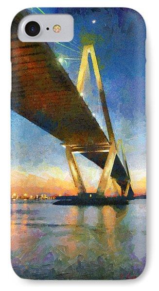 Ravenel Bridge IPhone Case