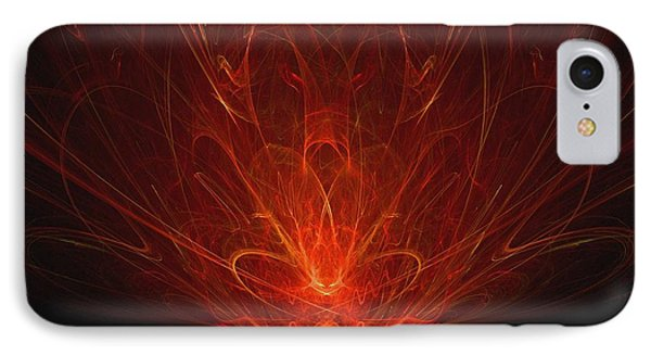 IPhone Case featuring the digital art Ravenous by R Thomas Brass