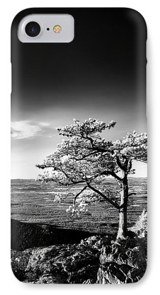 IPhone Case featuring the photograph Ravens Roost Ir Tree by Kevin Blackburn