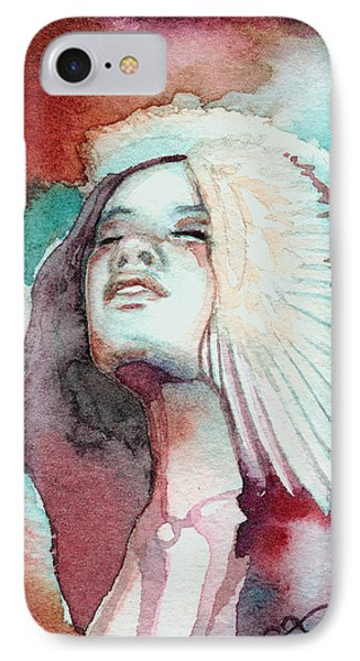 IPhone Case featuring the painting Ravensara by Ragen Mendenhall