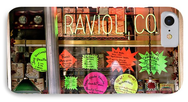 IPhone Case featuring the photograph Ravioli In The Window by John Rizzuto