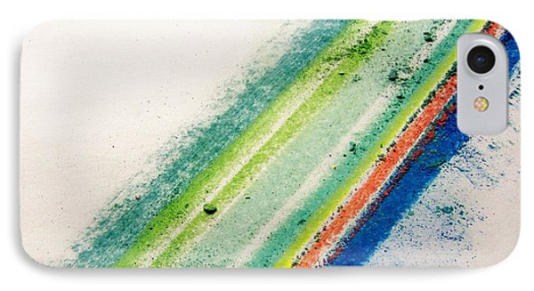 IPhone Case featuring the pastel Raw by Kristine Nora
