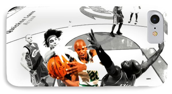 Ray Allen IPhone Case by Brian Reaves