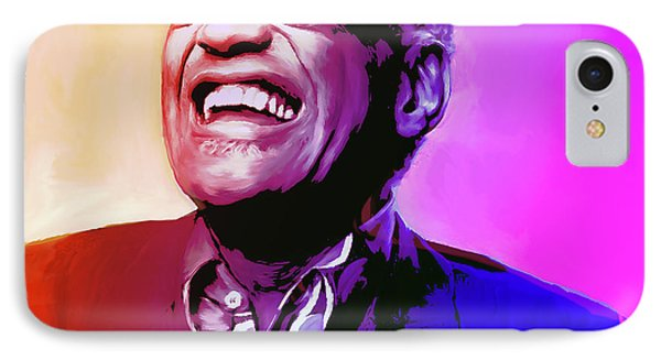 Ray Charles IPhone Case by Greg Joens