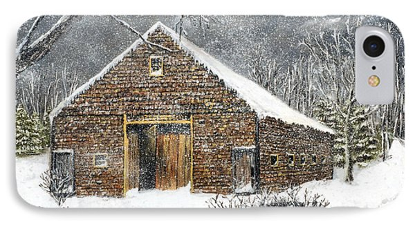 Ray Emerson's Old Barn IPhone Case by Jack Skinner