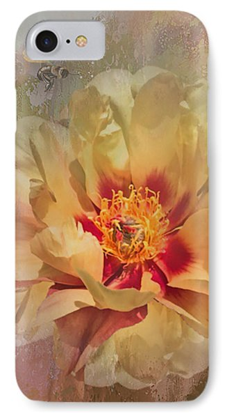 Rayanne's Peony IPhone Case by Jeff Burgess