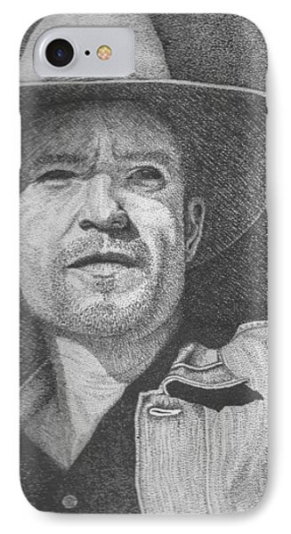 Raylan IPhone Case by Lawrence Tripoli