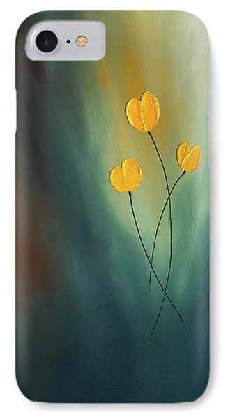 IPhone Case featuring the painting Rays Of Hope by Carmen Guedez