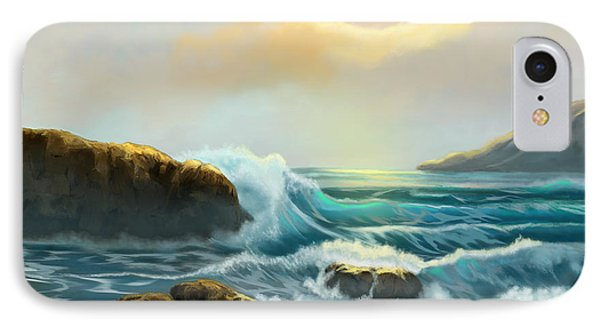 IPhone Case featuring the painting Rays Of Light by Sena Wilson