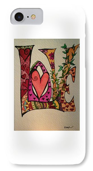 Reach For Love IPhone Case by Claudia Cole Meek
