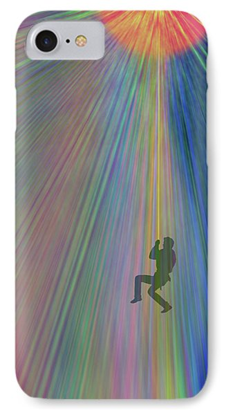 Reach Out And Touch Confidence IPhone Case by AugenWerk Susann Serfezi