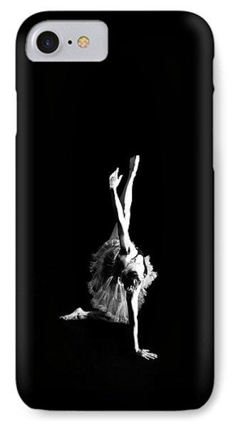 Reaching Ballerina Phone Case by Scott Sawyer