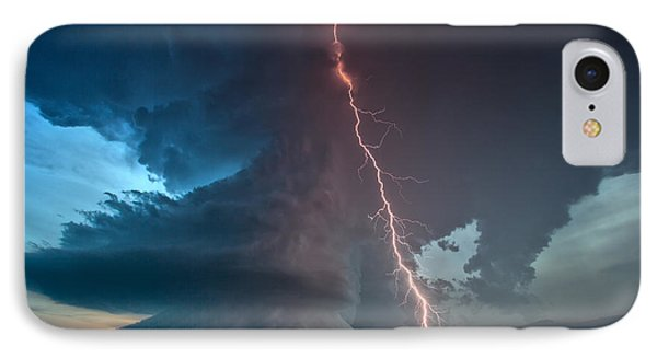 IPhone Case featuring the photograph Reaching by James Menzies