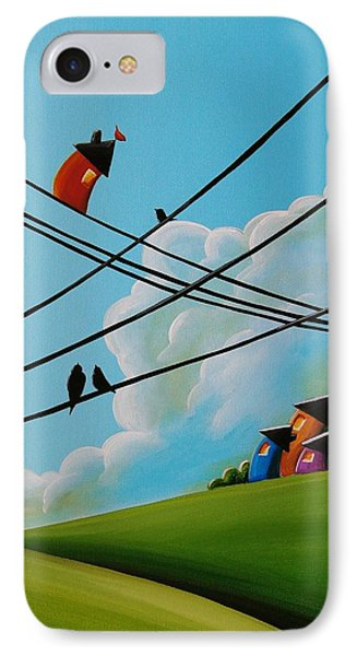 Reaching New Heights IPhone Case by Cindy Thornton