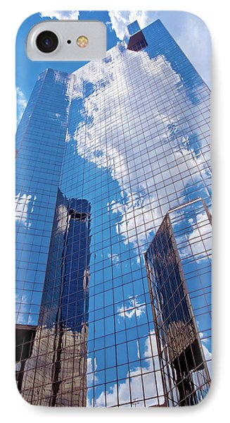 Reaching Up To The Sky IPhone Case by Linda Unger