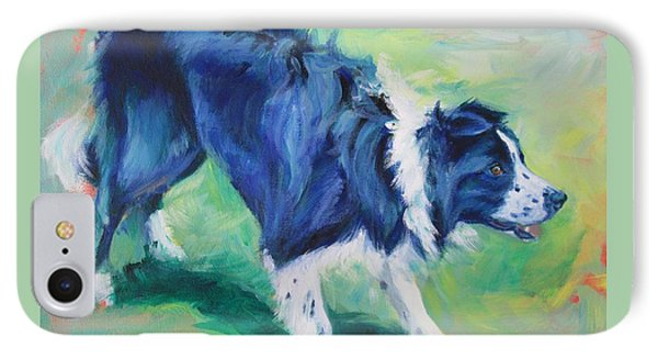 Ready To Fly - Border Collie IPhone Case