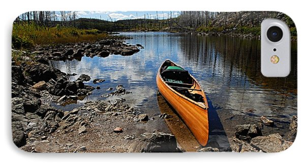 Ready To Paddle Phone Case by Larry Ricker